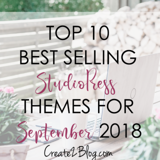 Top 10 Best Selling StudioPress Themes for September 2018