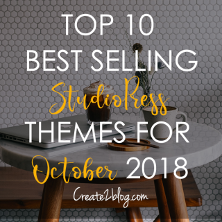 top best selling studiopress themes for october 2018