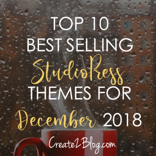 top 10 best selling studiopress themes for December 2018