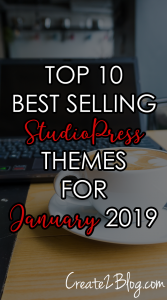 top best selling studiopress themes for January 2019